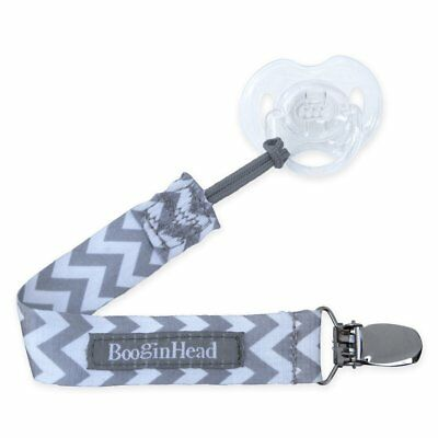 Booginhead Pacifier Leash - Chevron - PaciGrip Universal Pacifier Holder - Baby