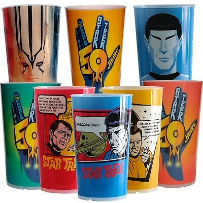 "Star Trek Becher Set ""All in One"" versandkostenfreie limitierte Auflage"