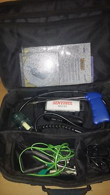 Anton Sprint  Flue Gas Analyser Flue Probe charger carry bag plus accessories