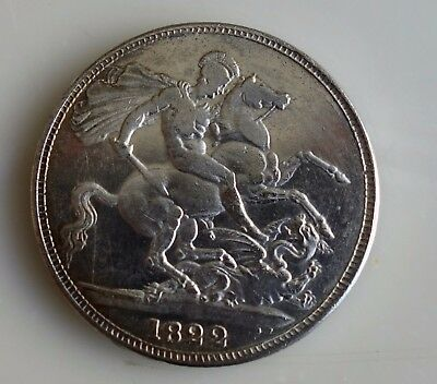 Silver Crown Dated 1822