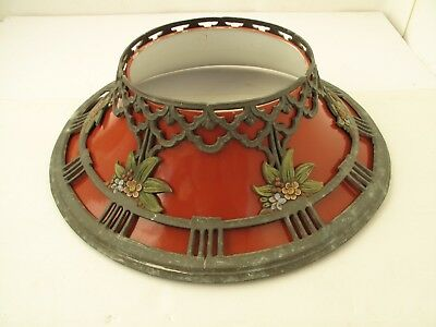 Antique Cast Metal Christmas Tree Stand or Cover