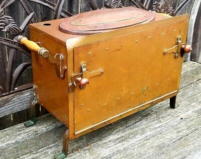 Antique French Copper Autoclave C1900 Early Medical Dental Sterilizer