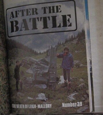 AFTER THE BATTLE MAGAZINE No.39 THE DEATH OF LEIGH - MALLORY