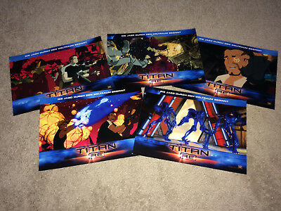 TITAN AE Orig Lobby Card Posters 2000 Sci-Fi Fantasy Don Bluth Animation Space