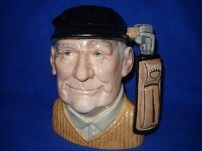 Royal Doulton GOLFER toby/character jug, large - D6623, dated 1970