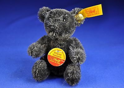 Steiff: Teddy Bär / Bear 030567, KFS / all IDs, anthrazit / charcoal, 1993-1999