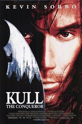 KULL THE CONQUEROR MOVIE POSTER ORIGINAL ROLLED 27x40
