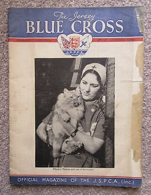 The JERSEY BLUE CROSS: Magazine of The J.S.P.C.A.  MARCH 1939 VOL ii No.1.