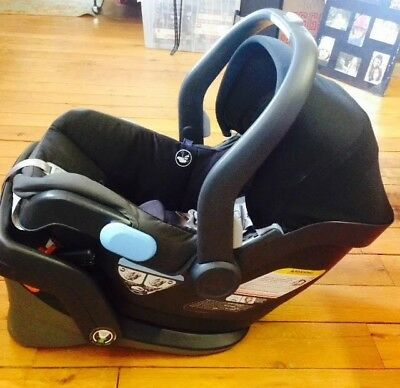 New UPPAbaby MESA Infant Car Seat Jake in Black - Manufactured Sept 2016
