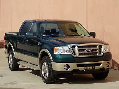 2008 Ford F-150 King Ranch Crew Cab Pickup 4-Door 2008 FORD F150 KING RANCH CREW CAB 4X4 1 OWNER ACCIDENT FREE CARFAX CERTIFIED!!