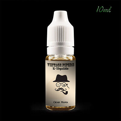 Eliquid Vape Juice 10ml - Tobacco Flavours E-Juice from VintagePipers