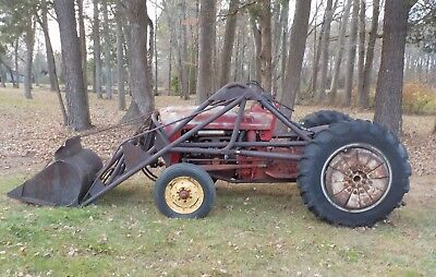 Ford 600, 640 Tractor, Ran When Parked, No Reserve Auction