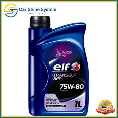 Elf Tranself NFP 75W80 GL4+ Gear Oil - 3x1L= 3 Litre