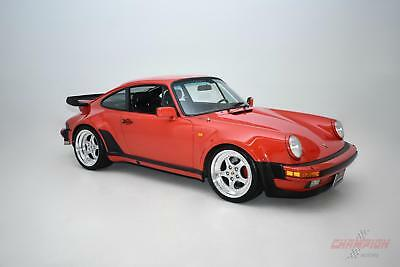 1984 Porsche 930 Turbo -- 1984 Porsche 930 Turbo  42,770 Miles Red Coupe  4 speed