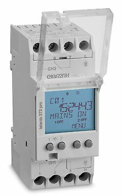 Grasslin Talento Pro TALENTO372PRO Standard Weekly 2 Channel Digital Timeswitch