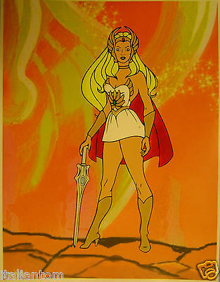 Hand Painted Handpainted Shera She Ra He Man Princess Animation Cel Cell Art