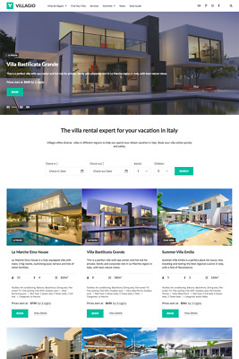 Property Responsive Website Booking WordPress Theme