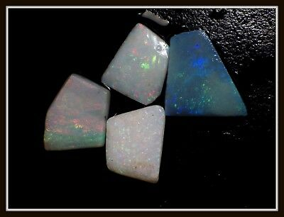 11.15ct Solid GREAT COLOUR Mintabie Opal Rubs