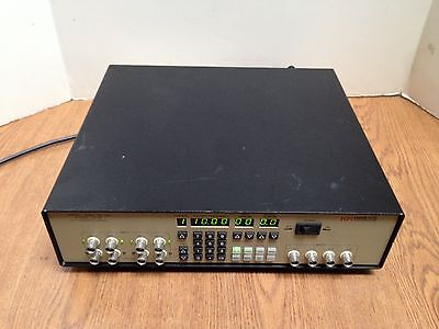 Krohn-Hite KH 3384 8-Pole 4-Channel 200kHz 50Ohm LP/HP Butterworth/Bessel Filter