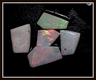 15.15ct Solid GREAT COLOUR Mintabie Opal Rubs