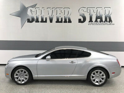 2005 Bentley Continental GT GT Coupe 2-Door 2005 Continental GT AWD W12 TwinTurbo Loaded Xnice Leather GPS Texas