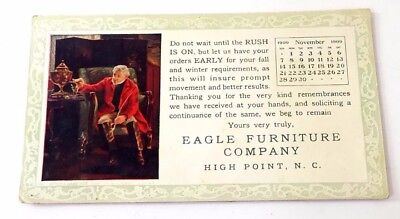 1909 Blotter Eagle Furniture Company High Point NC