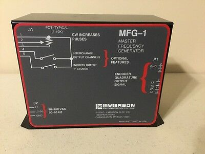 Emerson MFG-1 Master Frequency Generator