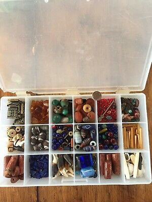 Large Mixed Trade Bead Collection Lot