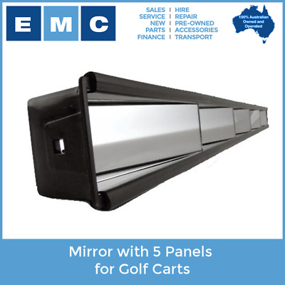 5 Panel Mirror for Golf Carts