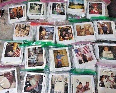 Lot of 50 Original Color POLAROID Found Old Photos Vintage Snapshots
