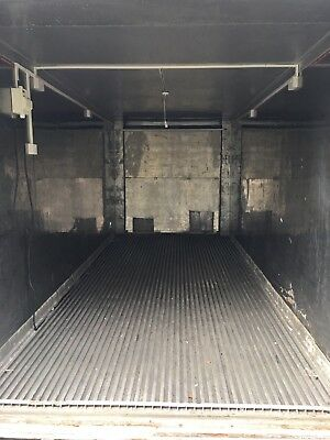 Shipping Container Insulated Hydroponics Growroom Refrigerated 20ft Paint booth