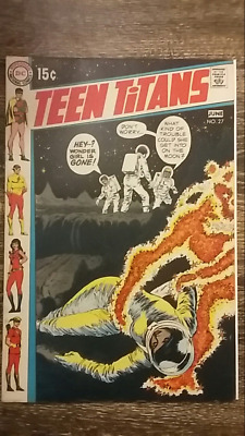 Teen Titans #27 (1970) DC  Justice League of America App.   PRICED  TO SELL!