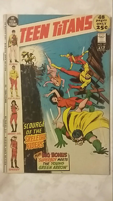 Teen Titans #37 (1972) DC  Superboy Meets Young Green Arrow!  PRICED TO SELL!