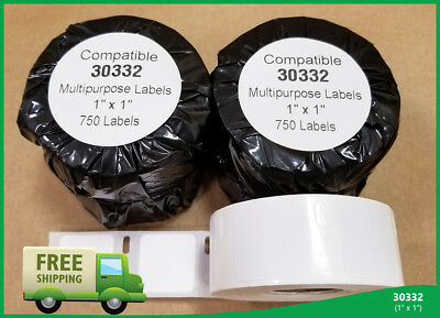 DYMO® 100 Rolls 30332 Internet Postage Compatible Small Multipurpose 750 Labels