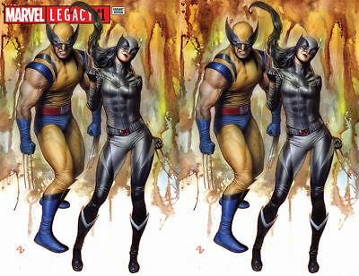 Marvel Legacy #1 Adi Granov Virgin & Trade Variant Set LTD to 600 Wolverine X-23