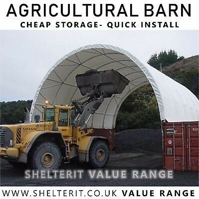 Agricultural Barn - Feed Store -Temporary Portable Building Commercial Warehouse