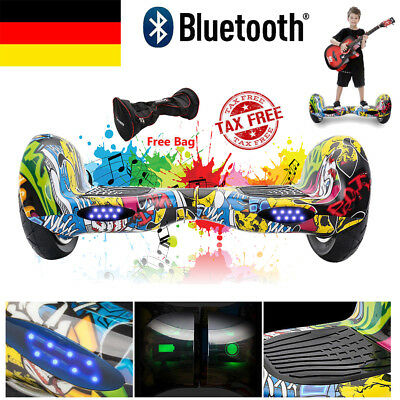hip hop 10 zoll hoverboard bluetooth self balance elektro scooter skateboard eur 199 00. Black Bedroom Furniture Sets. Home Design Ideas