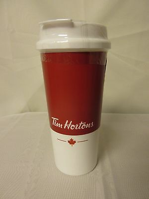 Tim Hortons Coffee Limited Edition 2017 BPA Free Plastic Travel Tumbler Cup