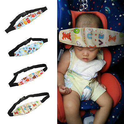 Children Kids Safety Car Seat Sleep Aid Head Support Belt Eliminates Pressure