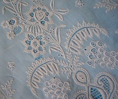 Antique Ayrshire Lace Baby Gown - Superb Embroidery - Collector