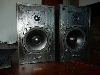 Tangent Acoustics Monitor 3 Enceintes Vintage Bibliotheque