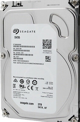 "Seagate SV35 3TB,Internal,7200 RPM,8.89 cm (3.5"") (ST3000VX000) Desktop HDD"