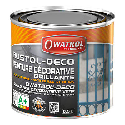 Antirouille RUSTOL-DECO - marron - 0.5 L