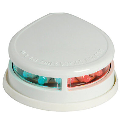 Feu de navigation LED Evoled - pour pont - ABS blanc - bicolore 225°