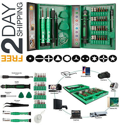 Precision COMPUTER REPAIR TOOL KIT 38pcs Electronics PC SCREWDRIVER TOOLS SET