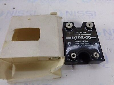 Opto 22 240D3 Solid State Relay