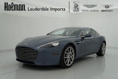 2017 Aston Martin Rapide Rapide S Sedan 2017 17 ASTON MARTIN RAPIDE V12 * $230k MSRP * LOADED * DEMONSTRATOR * WARRANTY