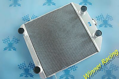 Fit Ford Lowboy chopped w flathead V8 engine 1939-1941 Aluminum Alloy Radiator