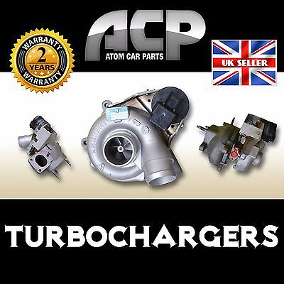 Turbocharger for Land Rover Discovery III, 2.7 TdV6. 2700 ccm, 190 BHP, 140 kW.