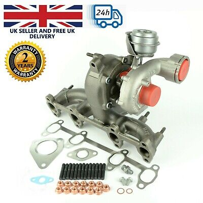 Turbocharger 720855 for Volkswagen Bora Golf, Sharan - 1.9 TDI. 130 BHP, 96 kW.